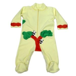 Pyjama d'hiver Panda en Polaire